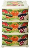 Комод 3-х сек с рисунком Овощи Violet - Оптовая продажа товаров для дома - ООО МАРКИК, Екатеринбург