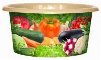 Таз Овощи 10л Violet - Оптовая продажа товаров для дома - ООО МАРКИК, Екатеринбург