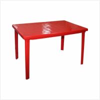 Стол прямоуголный красный 1200*850*750мм Альтернатива - Оптовая продажа товаров для дома - ООО МАРКИК, Екатеринбург