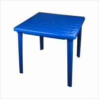 Стол квадратный синий 800*800*740мм Альтернатива - Оптовая продажа товаров для дома - ООО МАРКИК, Екатеринбург
