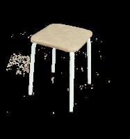 Табурет Пенек легкий металлический квадратный d трубы 18 мягкое сиденье 300*300 мм ЗМИ - Оптовая продажа товаров для дома - ООО МАРКИК, Екатеринбург