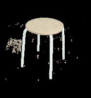 Табурет Пенек легкий металлический круглый d трубы 18 мягкое сиденье d 320 мм ЗМИ - Оптовая продажа товаров для дома - ООО МАРКИК, Екатеринбург