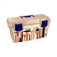 Ящик для инструментов 100 мелочей 415*210*210 Альтернатива - Оптовая продажа товаров для дома - ООО МАРКИК, Екатеринбург