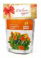 Набор для выращивания в дойпаке Календула оранж Happy Plant - Оптовая продажа товаров для дома - ООО МАРКИК, Екатеринбург